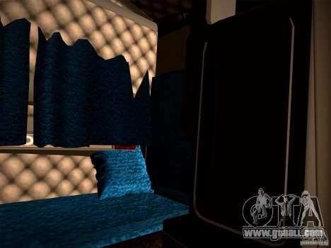 KenWorth T2000 v 2.8 for GTA San Andreas inner view