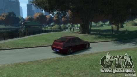 VAZ-2112 for GTA 4 back left view