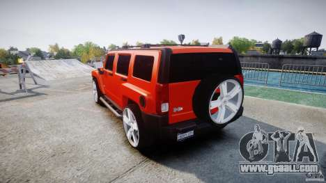 Hummer H3 for GTA 4 side view