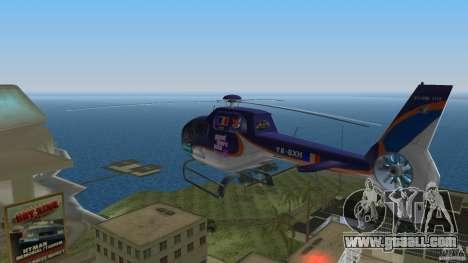 Eurocopter Ec-120 Colibri for GTA Vice City back view