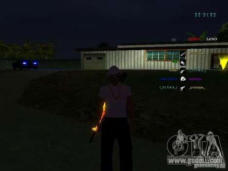 New skins La Coza Nostry for GTA: SA for GTA San Andreas third screenshot