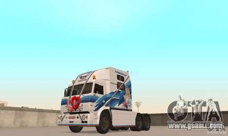 KAMAZ-54112 Secretariat for GTA San Andreas