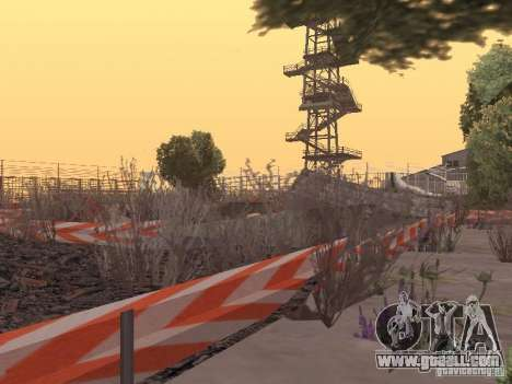 Off-road Route v2.0 for GTA San Andreas