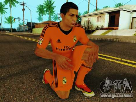 Cristiano Ronaldo v3 for GTA San Andreas fifth screenshot