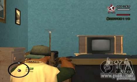 Uzi from COD4 MW for GTA San Andreas forth screenshot