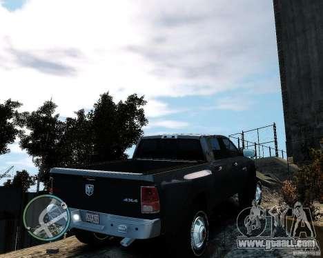 Dodge Ram 3500 Stock for GTA 4 back left view
