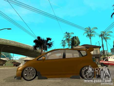 Honda Jazz Sport for GTA San Andreas left view
