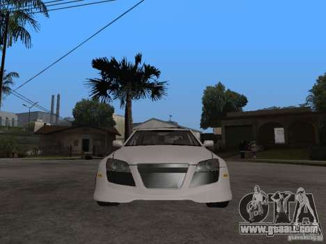 Lexus IS300 NFS Carbon for GTA San Andreas right view