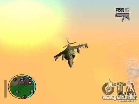 GTA IV HUD v2 by shama123 for GTA San Andreas second screenshot