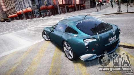 TVR Sagaris for GTA 4 back left view