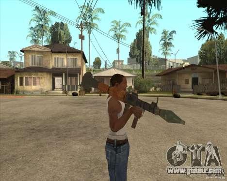 The RPG-7 for GTA San Andreas third screenshot