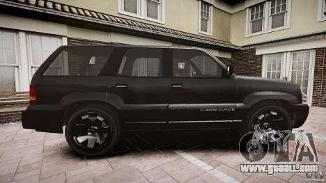 Cavalcade FBI car for GTA 4 inner view