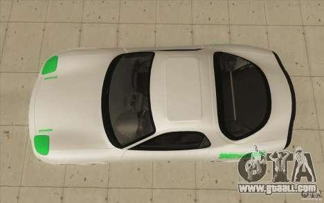 Mazda FD3S - Ebisu Style for GTA San Andreas right view