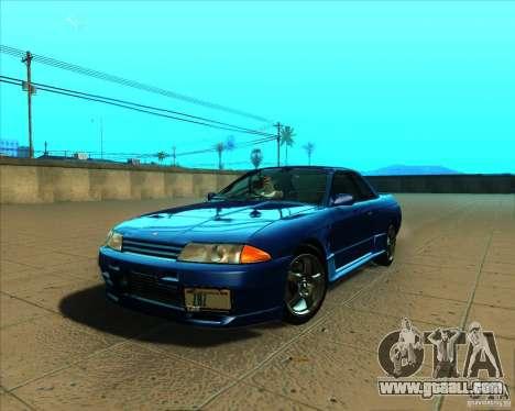 Nissan Skyline GT-R R32 1993 Tunable for GTA San Andreas inner view