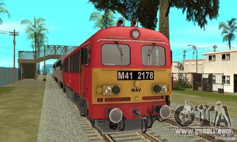 M41 Diesel Locomotive for GTA San Andreas