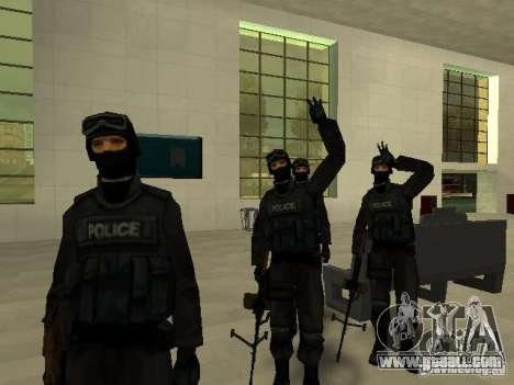 Help Swat for GTA San Andreas eighth screenshot