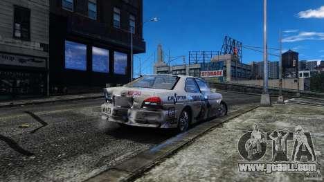 Nissan Laurel GC35 Itasha for GTA 4 inner view