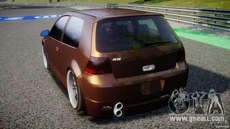 Volkswagen Golf IV R32 for GTA 4 back left view