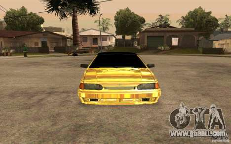 ВАЗ 2114 GOLD for GTA San Andreas right view