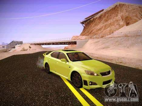 Lexus I SF for GTA San Andreas left view