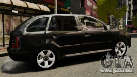 Skoda Fabia Combi Unmarked ELS for GTA 4