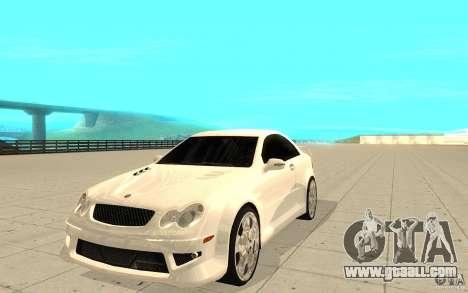Mercedes-Benz CLK 500 Kompressor for GTA San Andreas