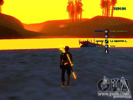 Skin pack for samp-rp for GTA San Andreas forth screenshot