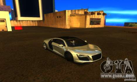 Audi R8 V12 TDI for GTA San Andreas right view
