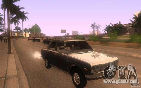 Datsun 510 4doors for GTA San Andreas back view