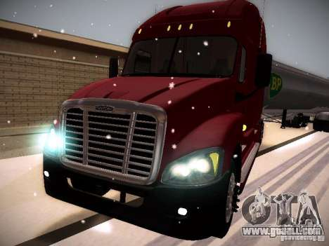 Freightliner Cascadia for GTA San Andreas left view
