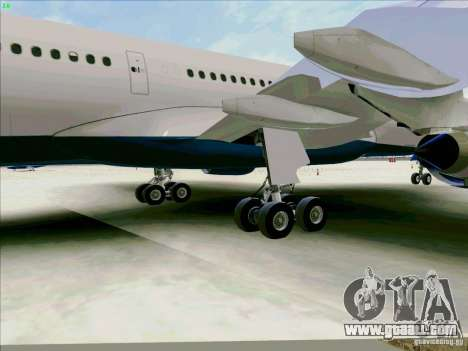 Airbus A330-200 for GTA San Andreas side view