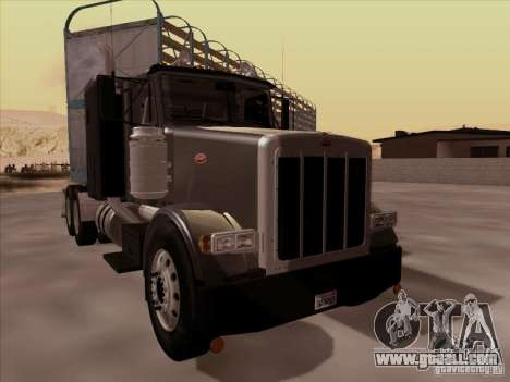 Peterbilt 378 for GTA San Andreas left view