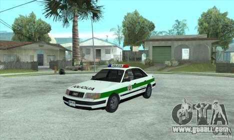 Audi 100 C4 (Cop) for GTA San Andreas