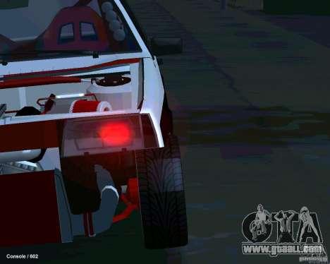 VAZ 2108 Drag for GTA San Andreas upper view
