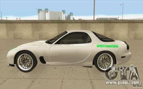 Mazda FD3S - Ebisu Style for GTA San Andreas left view