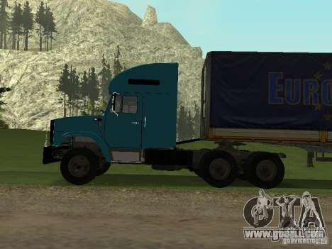 ZIL 133 for GTA San Andreas right view