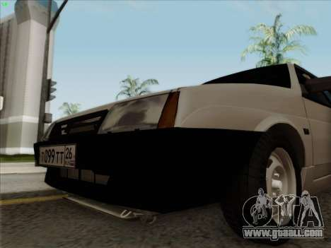 VAZ 21099 Drain for GTA San Andreas back left view