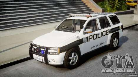 Chevrolet Trailblazer Police V1.5PD [ELS] for GTA 4