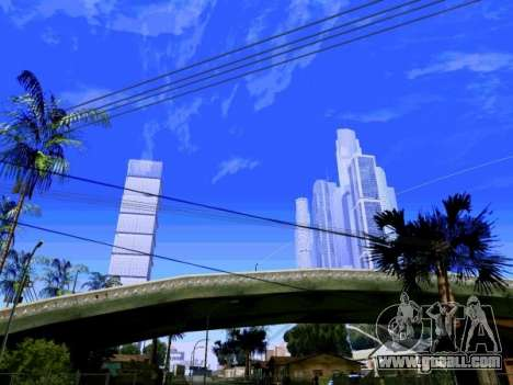 Skyscrapers in Los Santos for GTA San Andreas second screenshot