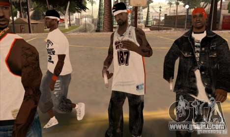 Replacement bands, tattoos, clothing, etc. for GTA San Andreas tenth screenshot