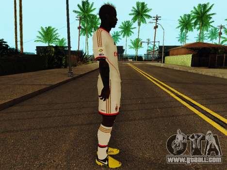 Mario Balotelli v2 for GTA San Andreas second screenshot