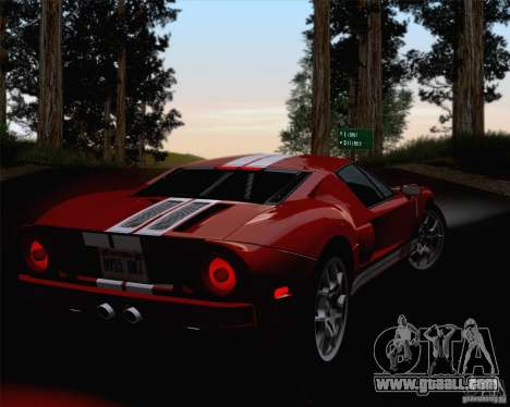 ENBSeries by ibilnaz v 3.0 for GTA San Andreas sixth screenshot