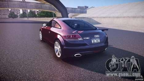 Audi TT RS v3.0 2010 for GTA 4 back left view
