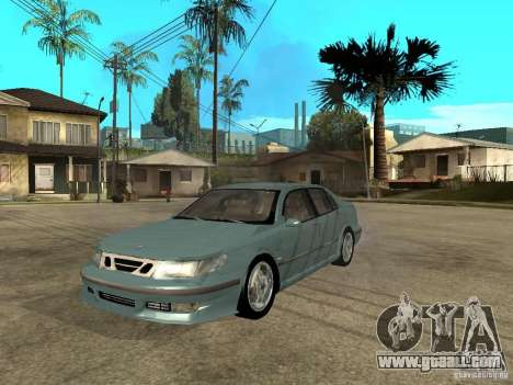 Saab 9-5 Aero Sedan for GTA San Andreas