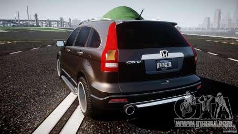 Honda C-RV SeX_BomB 2007 for GTA 4 back left view