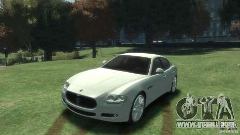 Maserati Quattroporte for GTA 4