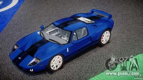 Ford GT 2006 v1.0 for GTA 4