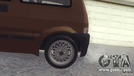Fiat Cinquecento for GTA San Andreas left view