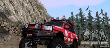 Toyota Land Cruiser 100 Off-Road for GTA San Andreas left view