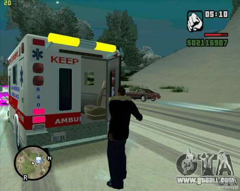 Ambulance for GTA San Andreas